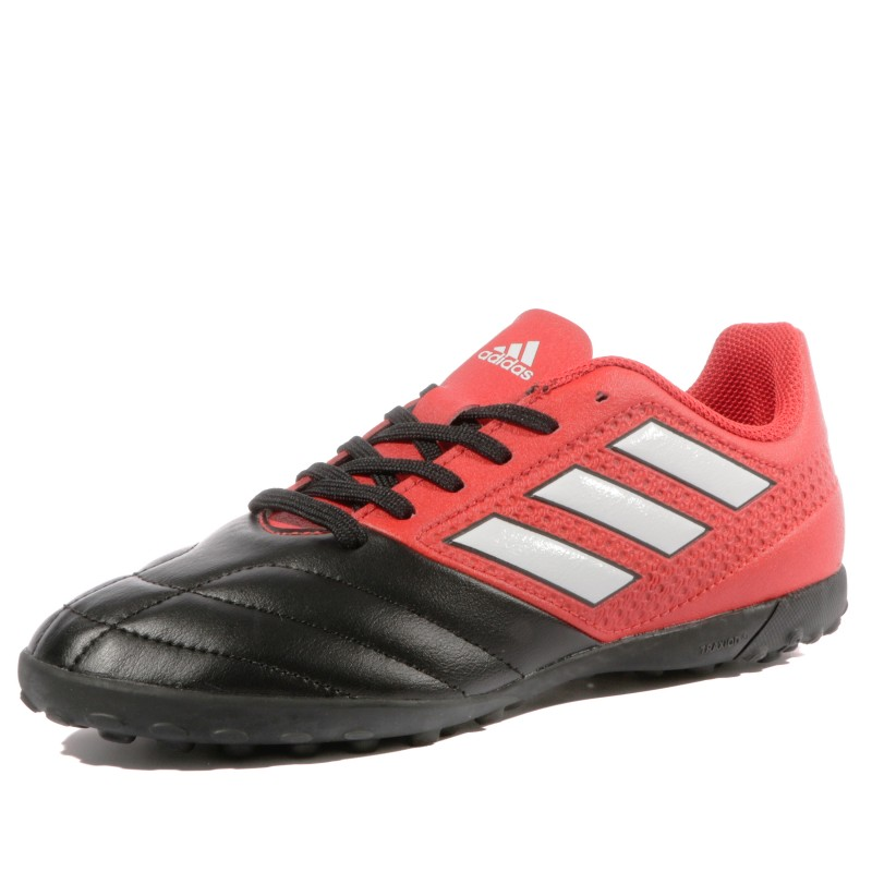 Ace 17.4 TF Homme Chaussures Football Noir Rouge Adidas