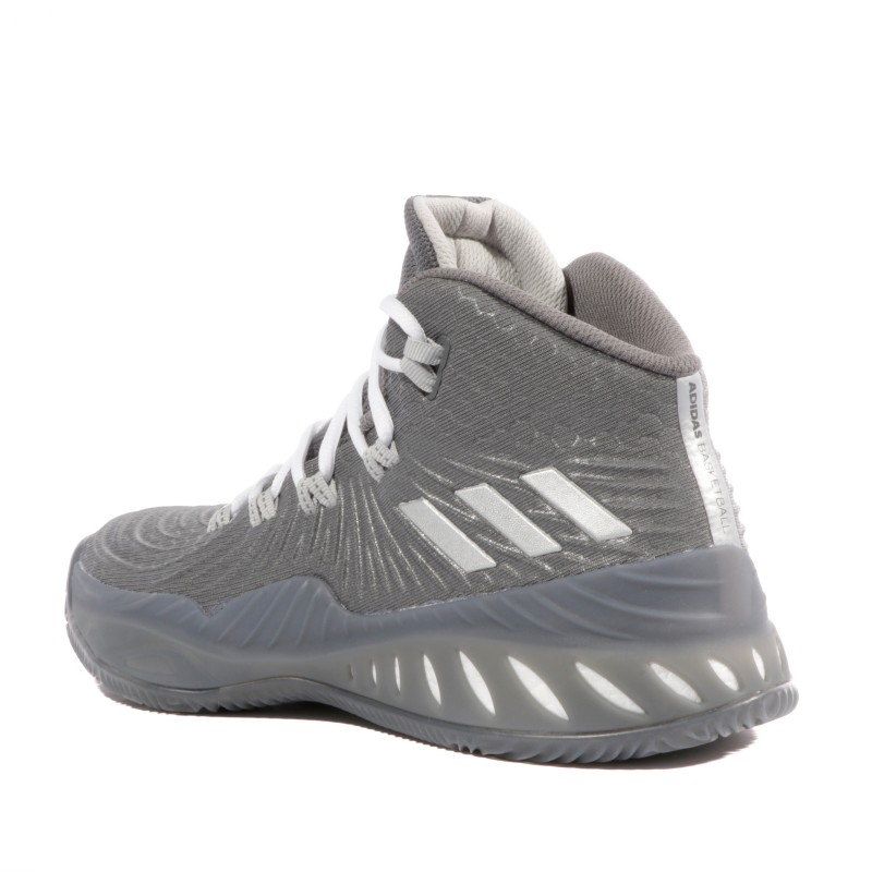 Crazy Explosive 2017 Homme Chaussures Basketball Gris Adidas