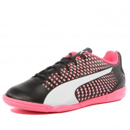 Adreno III IT Garçon Chaussures Football Noir Rose Puma