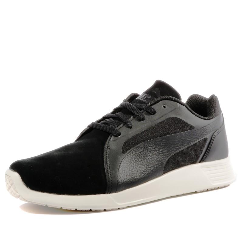 ST TRAINER SD M BLK Chaussures Homme Puma Baskets