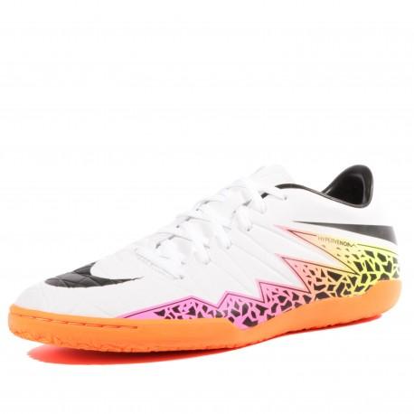 Hypervenom Phelon II IC Homme Chaussures Futsal Blanc Nike