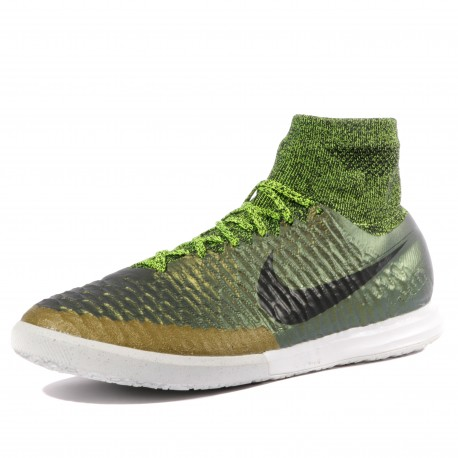 Magistax Proximo IC Homme Chaussures Futsal Vert Nike