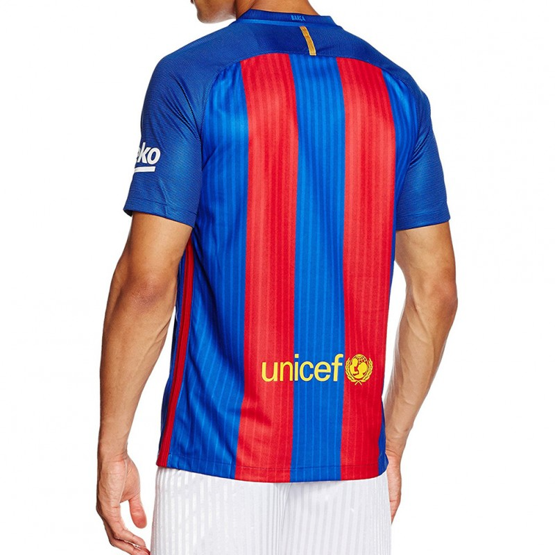 FC Barcelone Stadium Homme Maillot Football Marine Nike