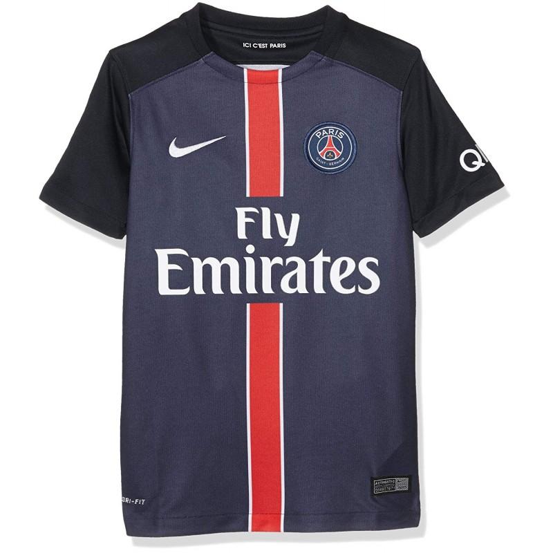 PSG Stadium Garçon Maillot Football Bleu Nike