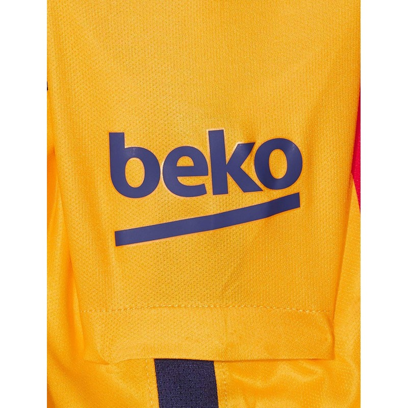 FC Barcelone Stadium Garçon Maillot Football Jaune Nike