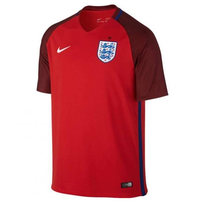 Angleterre Garçon Maillot de Football Rouge Nike