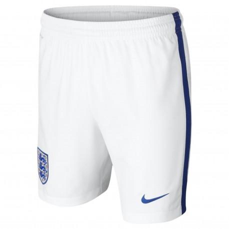Angleterre Garçon Homme Short Football Blanc Nike