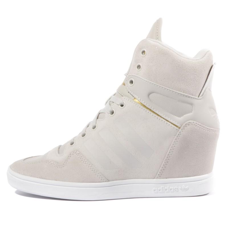 M ATTITUDE UP W BEI Chaussures Femme Adidas Baskets