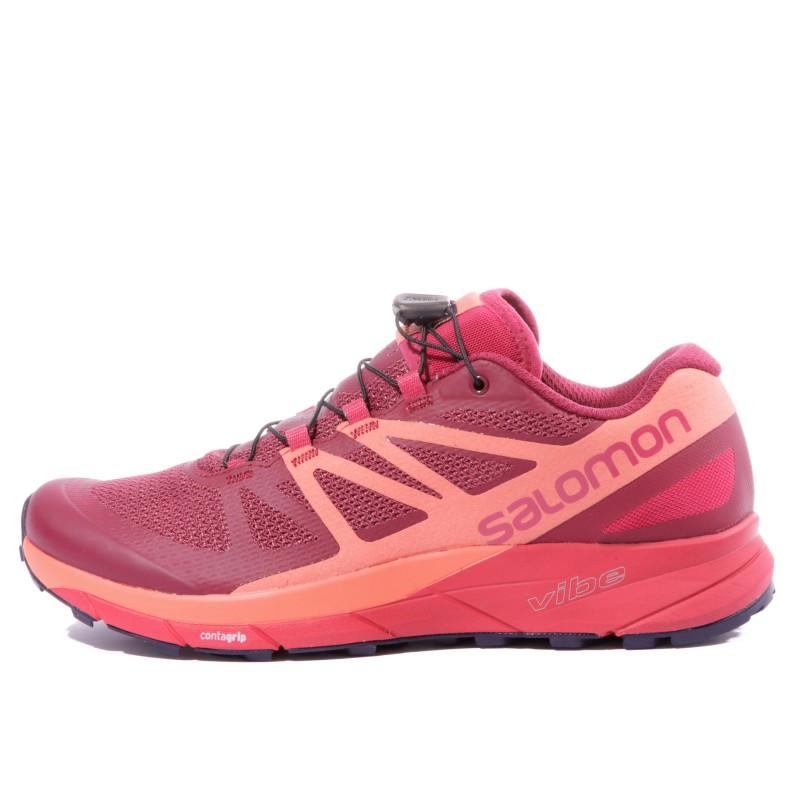 Haute qualité chaussures trail salomon femme petit prix Mesh