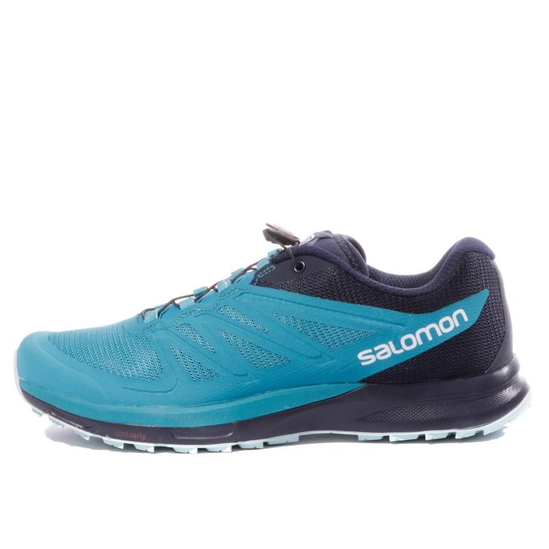 Sense Pro 2 Femme Chaussures Trail Bleu Salomon