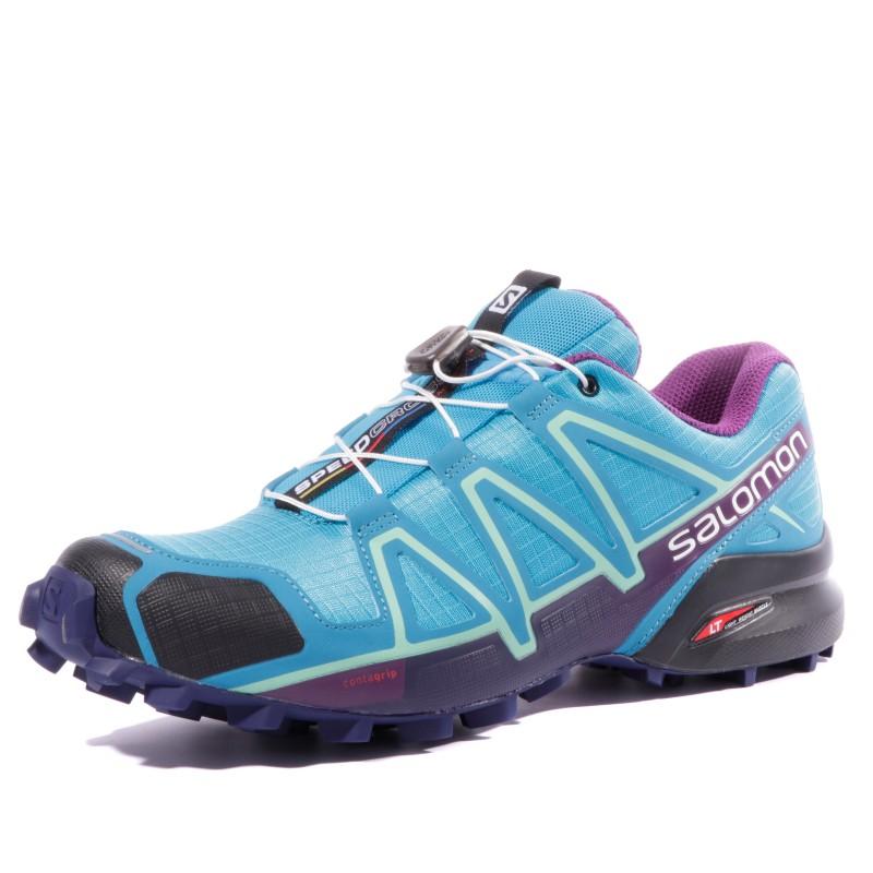 Speedcross 4 Femme Chaussures Trail Bleu Salomon