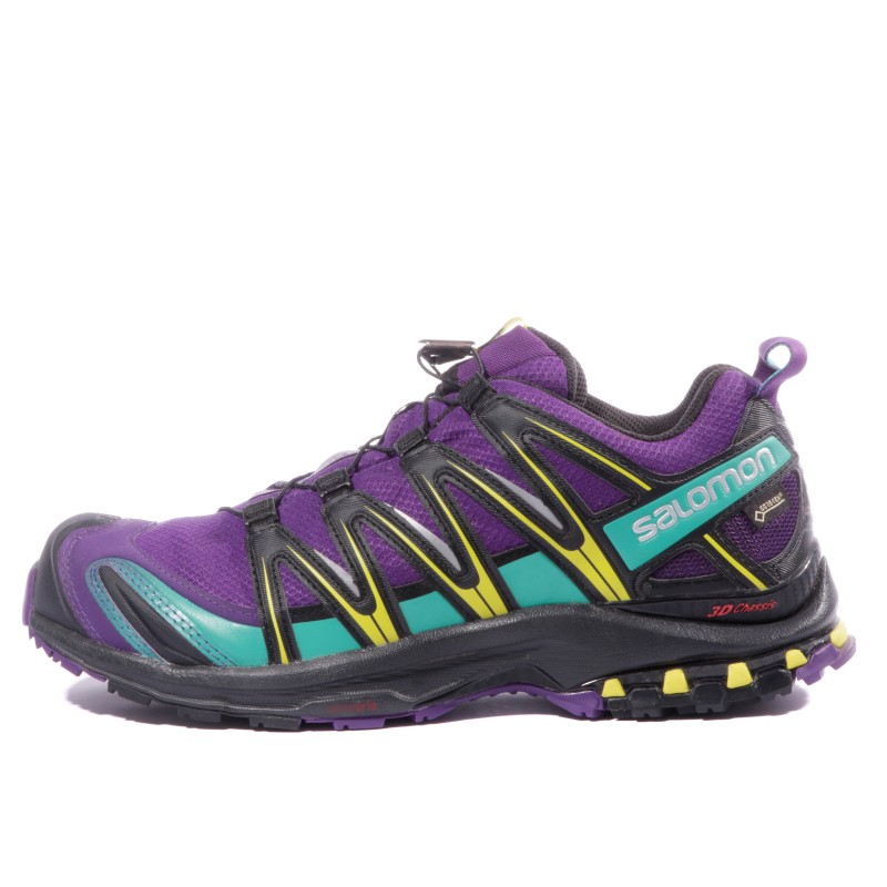3D GTX XA Chaussures Salomon Trail Pro Femme Violet XuOkZiTP