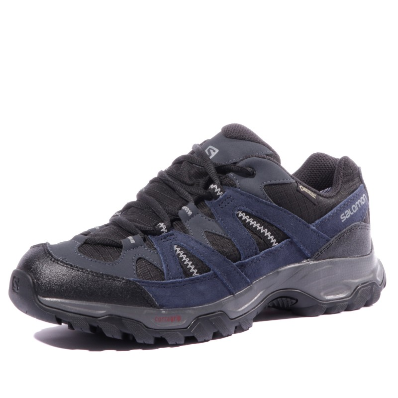 Noir Homme Chaussures Gtx Bleu Salomon Randonnée Tsingy hdtsrQCx