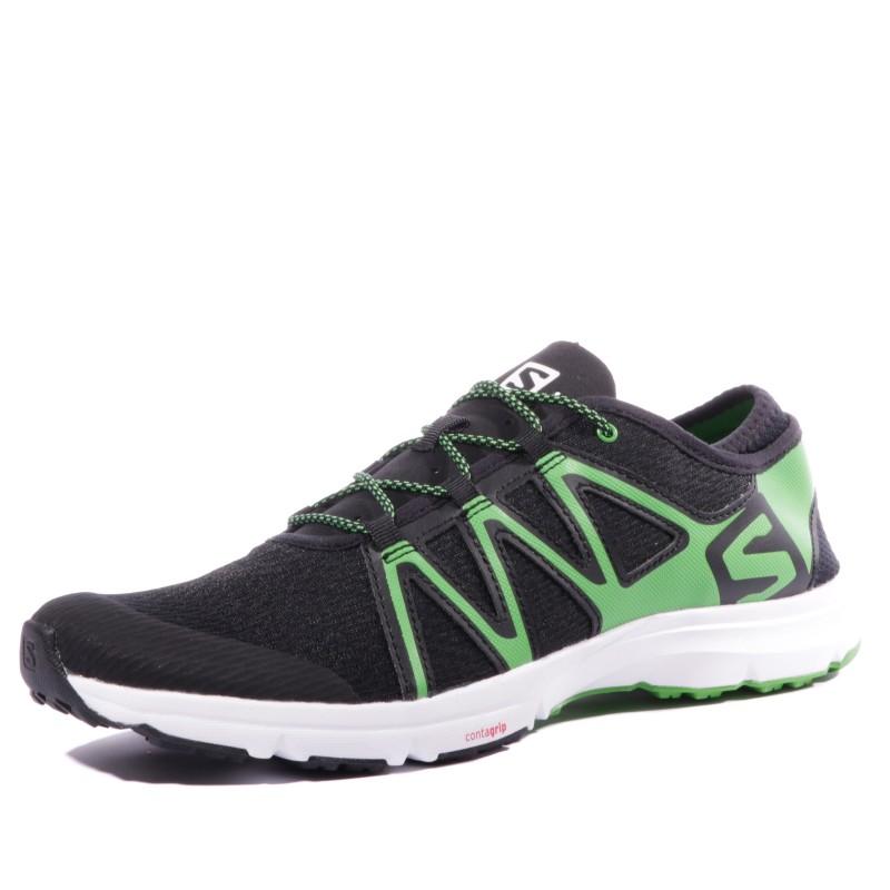 Homme Noir Running Swift Salomon Crossamphibian Vert Chaussures w0knOP