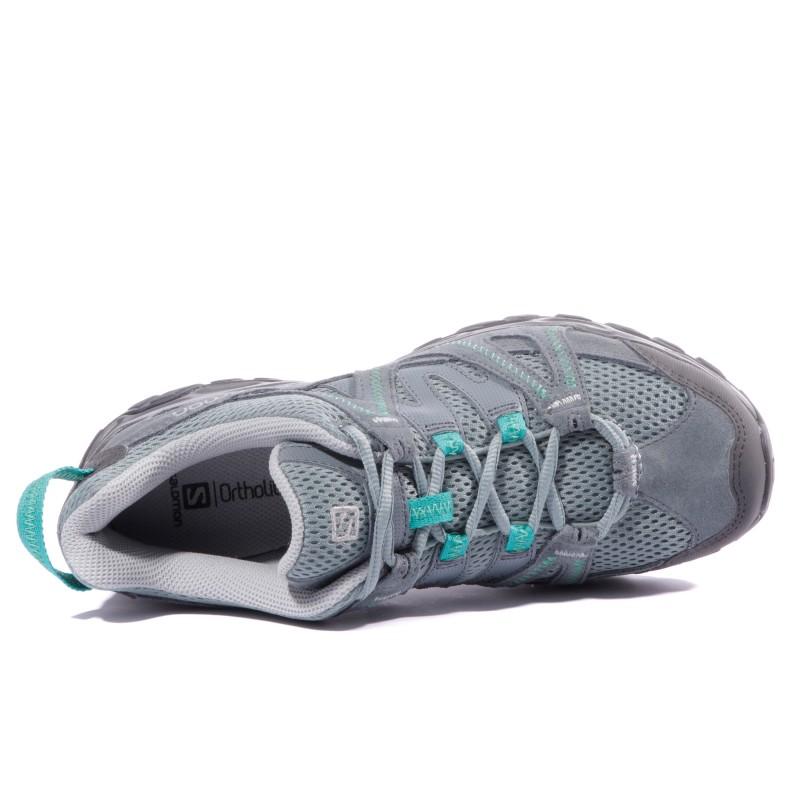 Gris Femme Chaussures 2 Randonnée Salomon Kinchega cFK1T3lJ