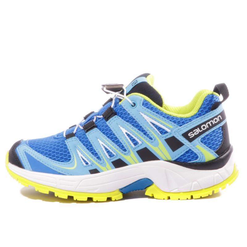 XA PRO 3D Garçon Chaussures Randonnée Bleu Salomon