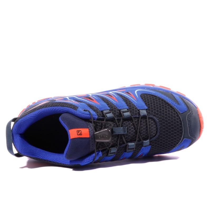 XA PRO 3D Garçon Chaussures Randonnée Noir Bleu Salomon
