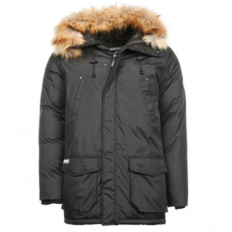 Canada Parka Homme Noir Paname Brothers