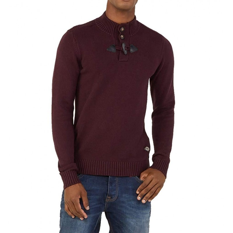 Parbour Homme Pull Rouge Teddy Smith