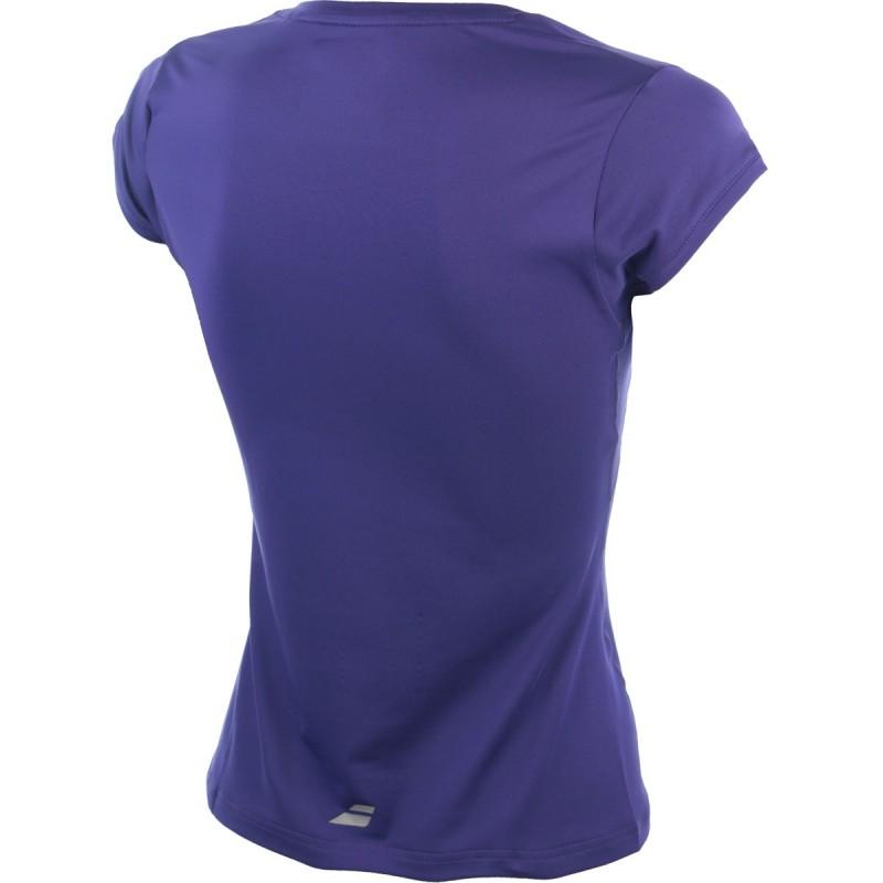 CAP Sleeves Perf Femme Maillot de Tennis Blanc Babolat