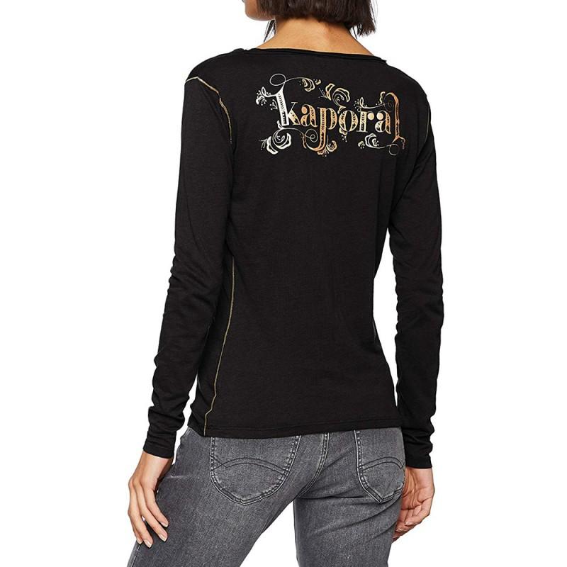 Tanio Femme Tee-shirt Gris Kaporal
