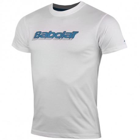 Training Basic Homme Tee Shirt Tennis Gris Babolat