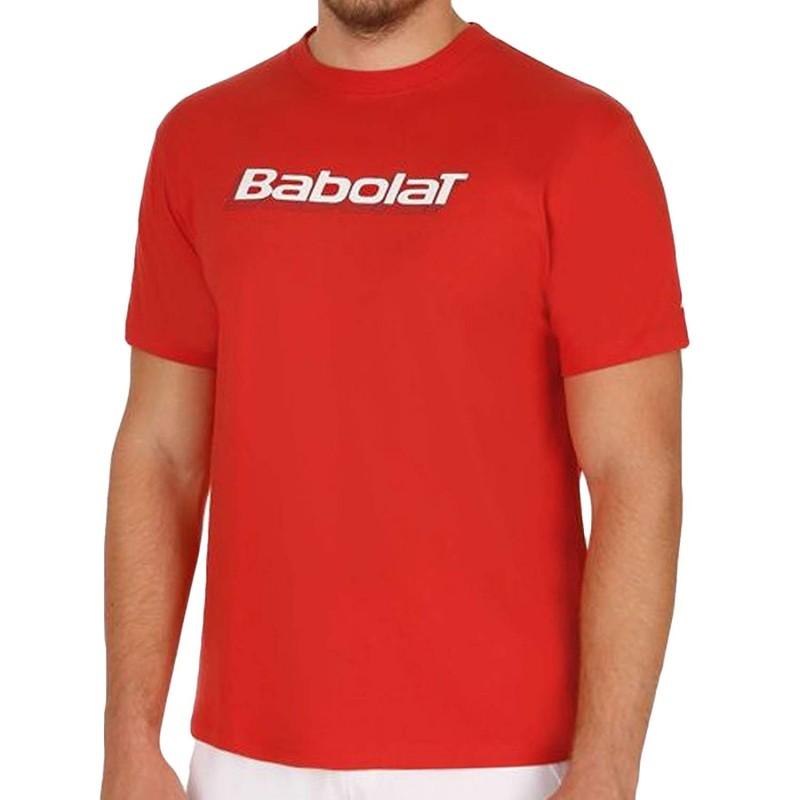 Training Basic Homme Tee Shirt Tennis Blanc Babolat