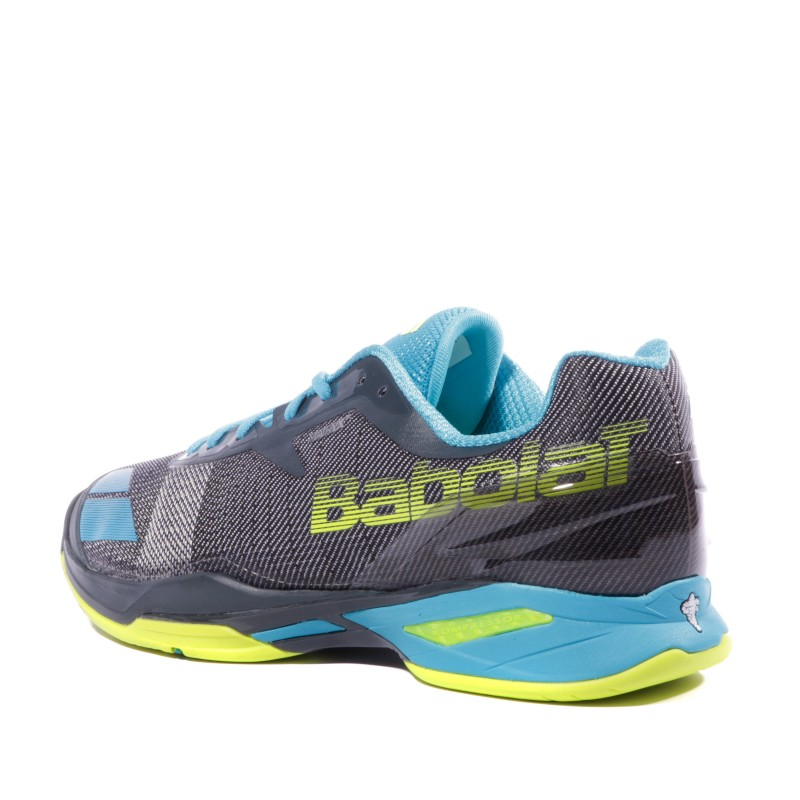 Chaussures Court Tennis Babolat Jet Homme All Gris PXikZu