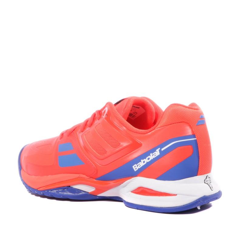 Babolat Homme Chaussures Tennis Rouge Propulse Team exBdCro