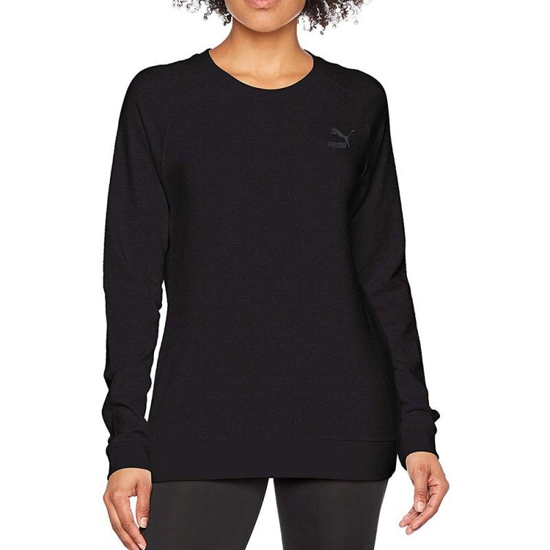 Archive Logo Femme Sweat Noir Puma