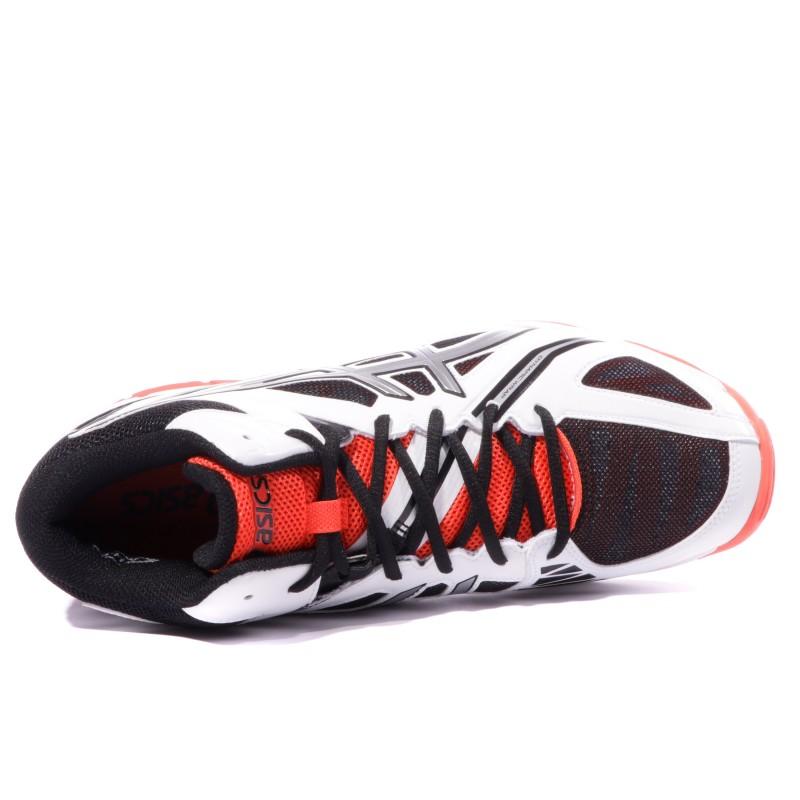 Gel Volley Homme Ball Chaussures Asics 3 Elite Blanc mNwOv8n0