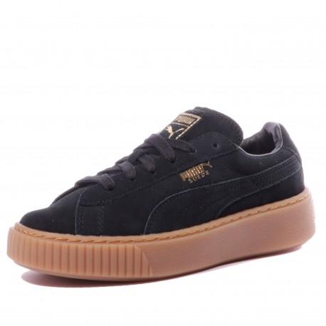 Suede Platform SD Fille Chaussures Noir Puma