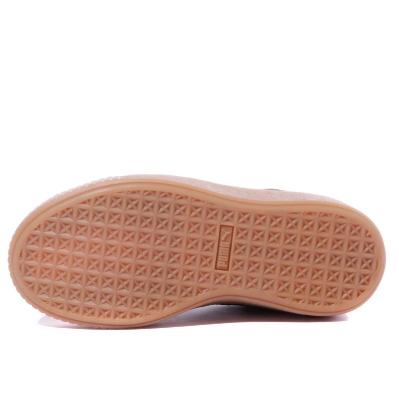 chaussure puma pour fille verni noir