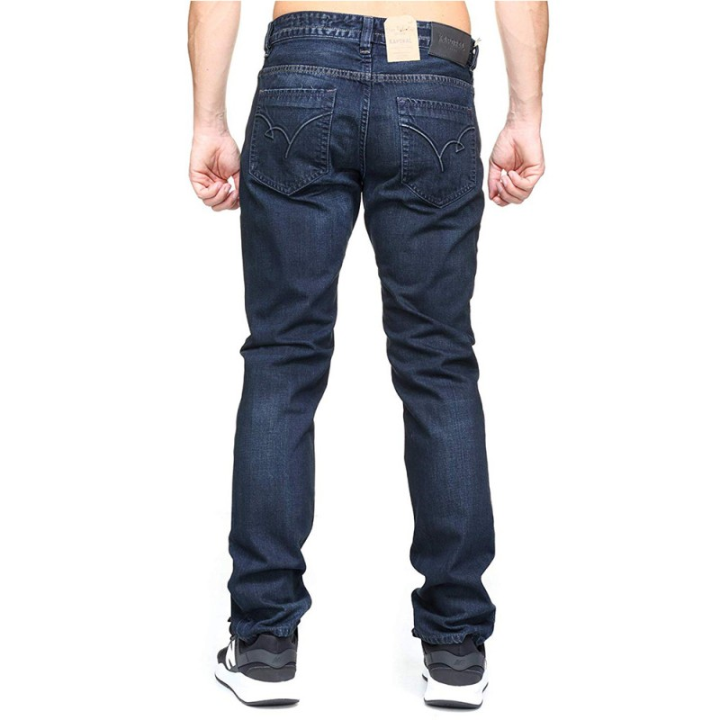 Broz Homme Jean Straight Bleu Kaporal