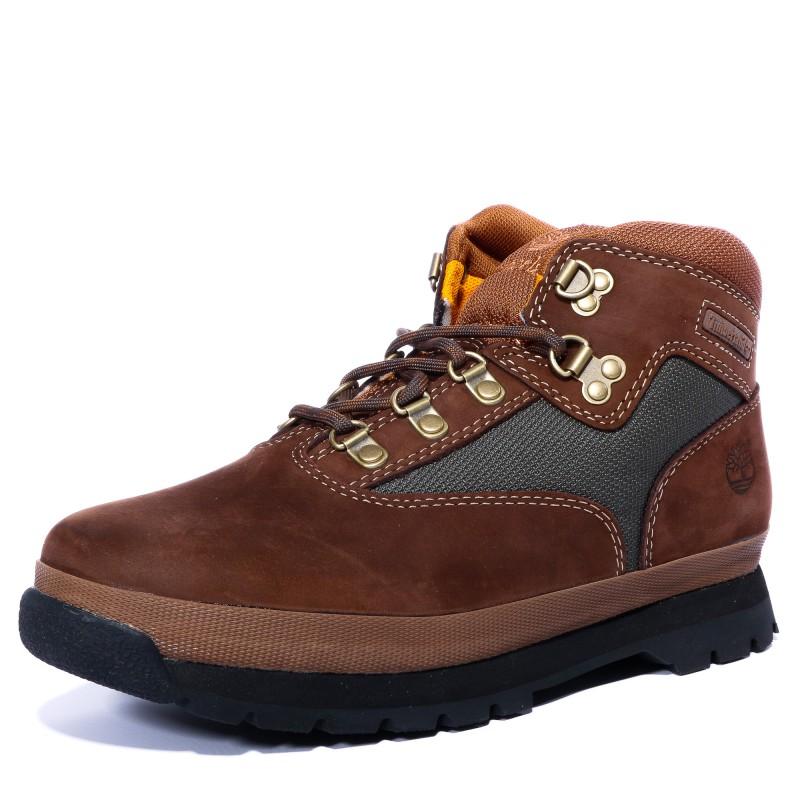 Timberland Euro Hiker Chaussures Bottines Enfant Cuir
