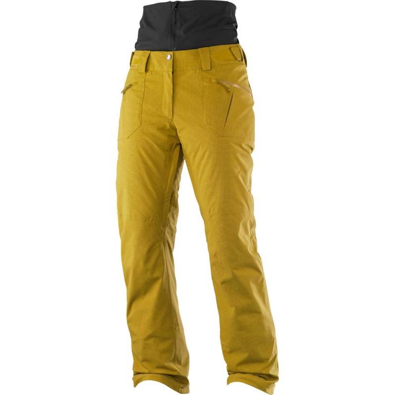 Ski Pantalon Qst Snow Femme Or Salomon eH9DE2WIYb