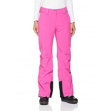 Icemania Femme Pantalon Ski Rose Salomon