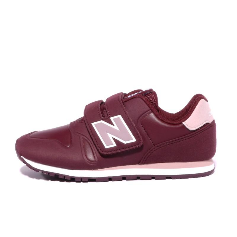 la moitié 69d9f 907c3 KE420 Fille Chaussures Bordeaux New Balance