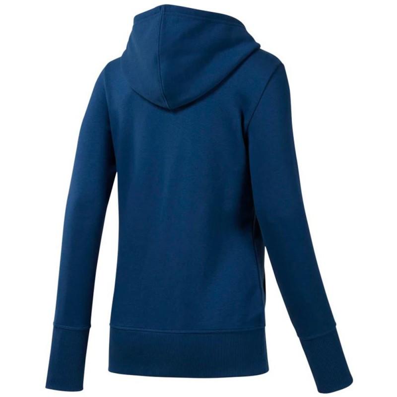 Sweat Zippé Femme Bleu Reebok