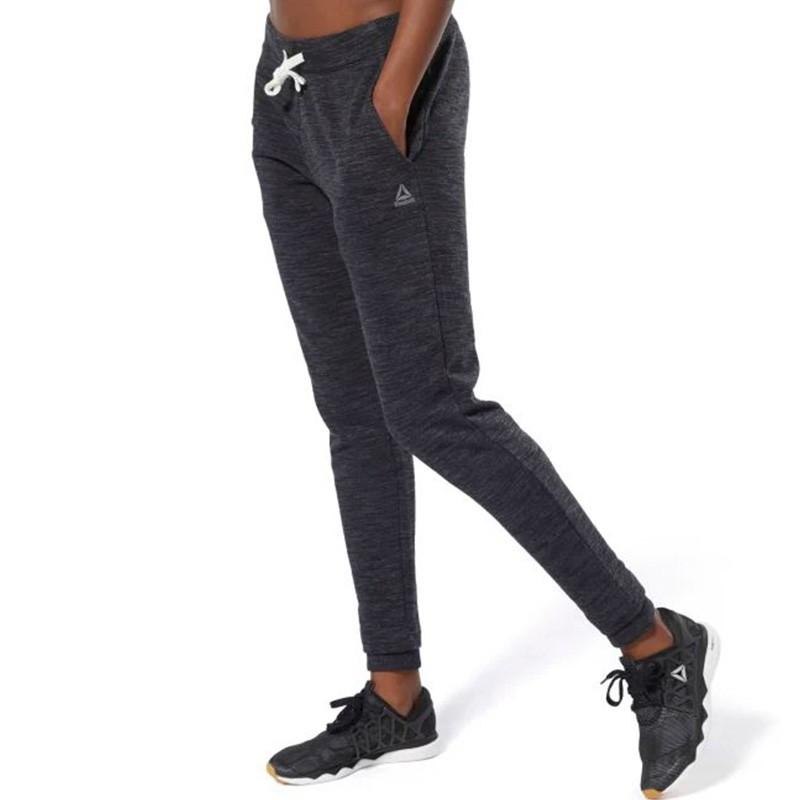 Pantalon Noir Femme Pantalon Pantalon Noir Reebok Marble Femme Marble Marble Reebok Femme vmn80wN