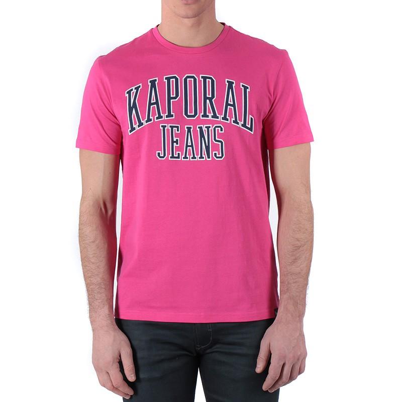 Parc Homme Tee-Shirt Rose Kaporal