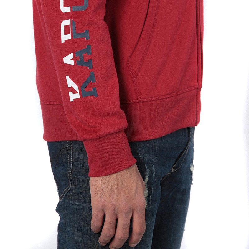 Mial Homme Sweat Rouge Kaporal
