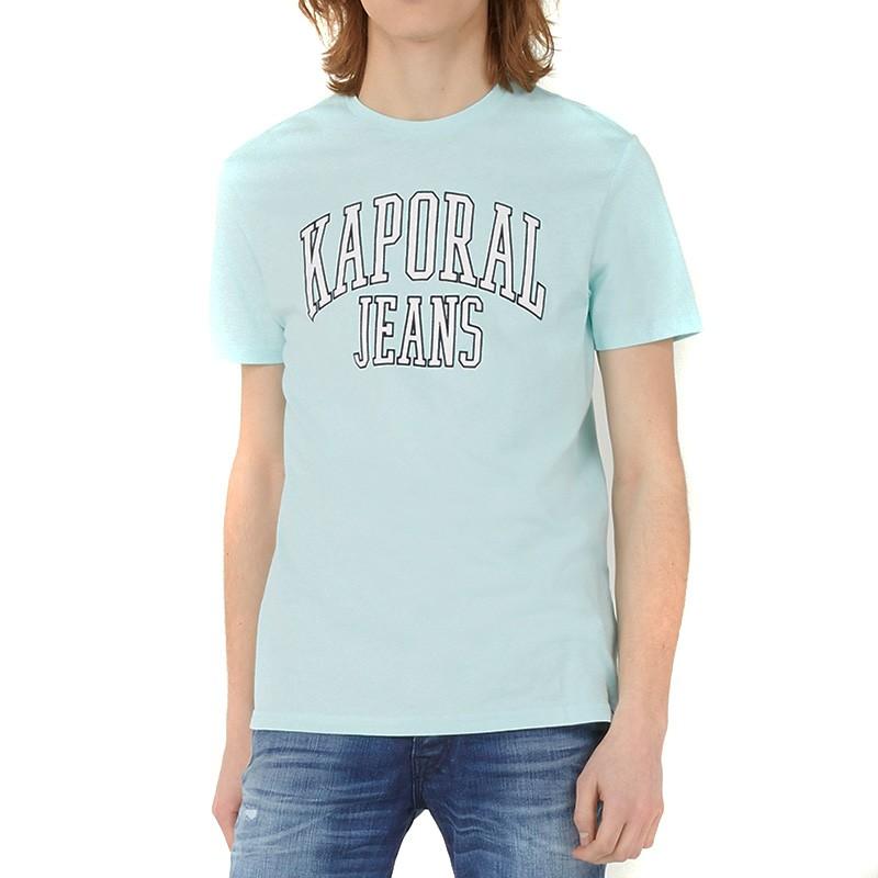 Parc Homme Tee-Shirt Bleu Kaporal