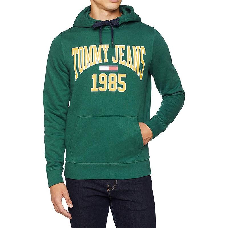 TJM Essential Homme Sweat Vert Tommy Hilfiger