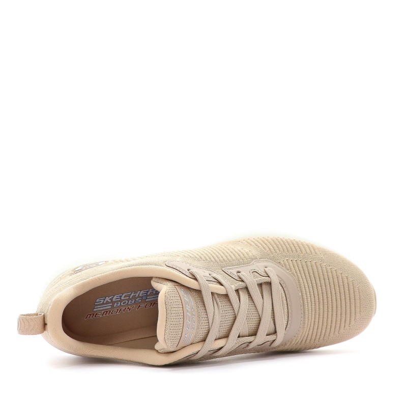 Rose Chaussures Femme Squad Skechers Fitness Bobs bf67yg