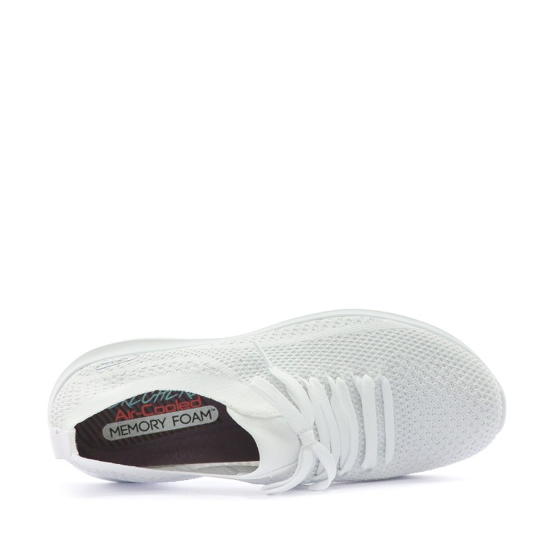 Skechers Fitness Salutation Femme Ultra Flex Blanc Chaussures 54qcAjRLS3