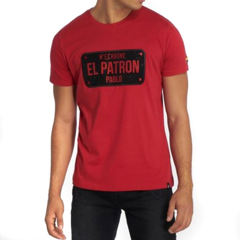 bb7f7df67 Tee-shirt Homme Rouge Hechbone