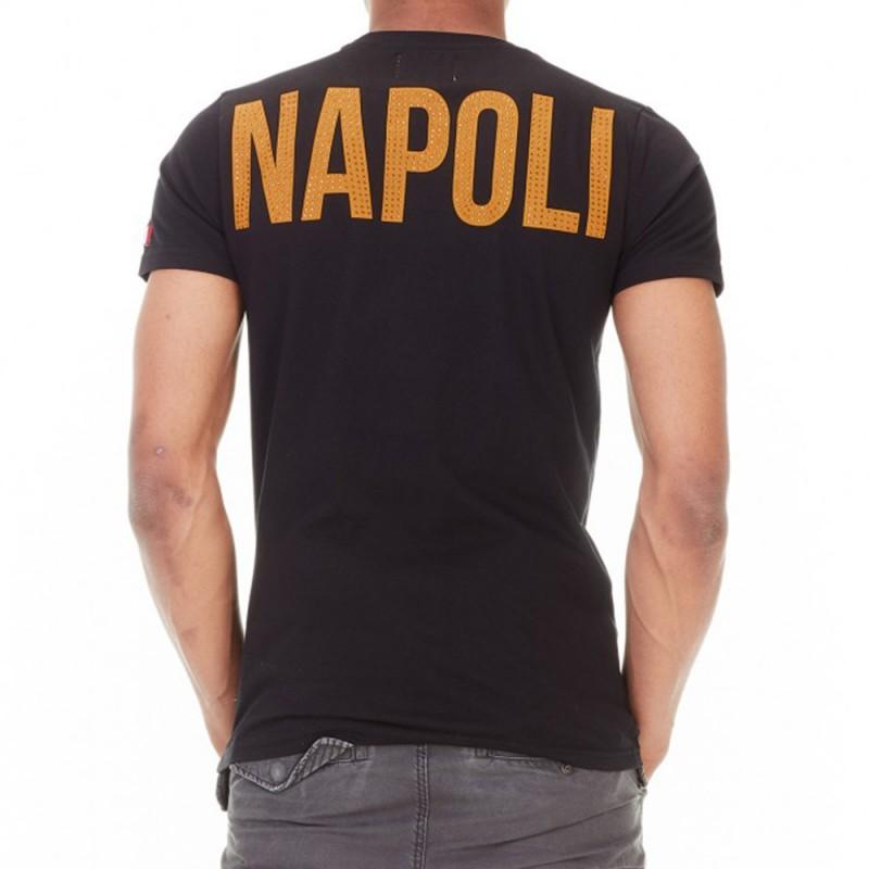 6a4160161f1 Savastano Homme Tee-shirt Noir Hechbone