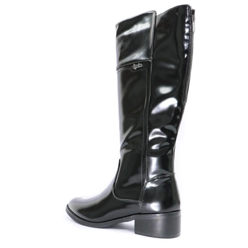 Bombes Leslie Petites Femme Chaussures Noir Les Y67Igyvbf