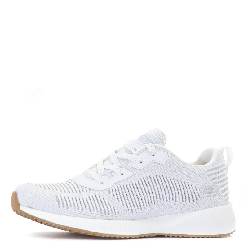 Fitness Glam Bobs Blanc Femme Chaussures Squad Skechers MVqSzLpUG